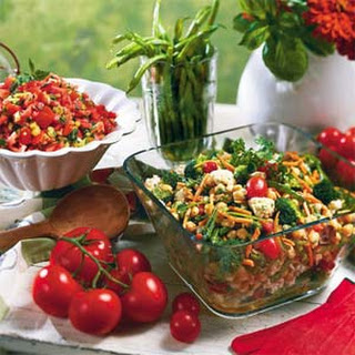 Hot Tomato Salad