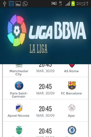 西甲BBVA2014-2015