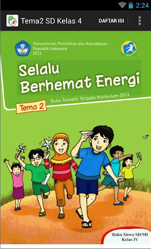 BSE Kur 2013 SD Kelas 4 Tema 2