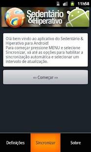 Sedentário & Hiperativo - screenshot thumbnail