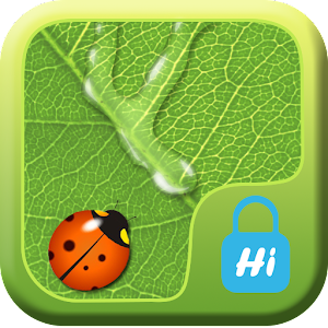 HI AppLock-LeafWaterDrop Theme 商業 App LOGO-APP試玩