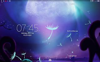 Screenshot of XPERIA™ Fantasy Theme