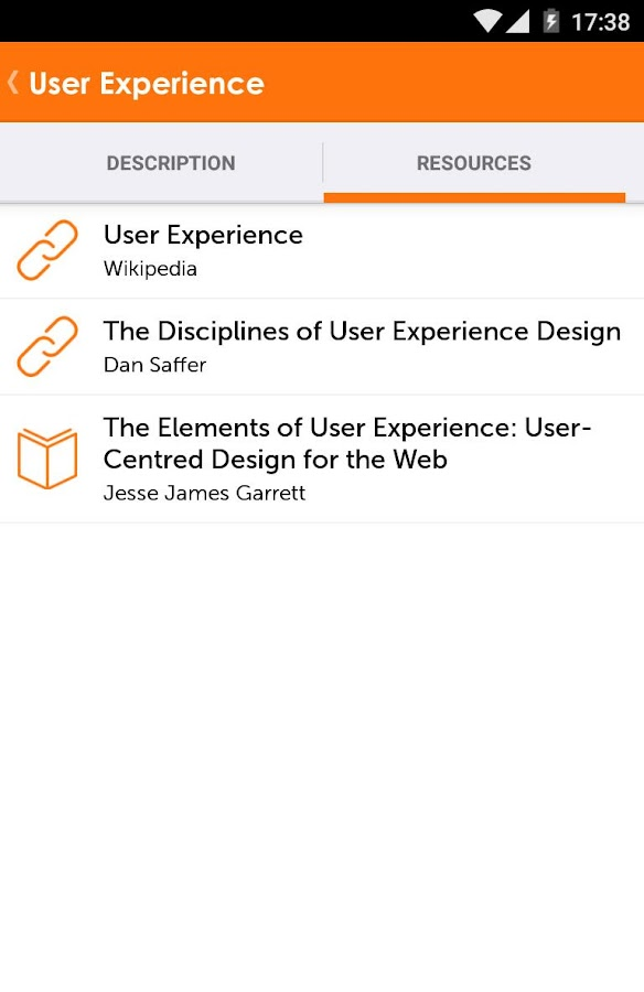 UX Companion- screenshot