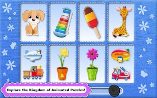Screenshot of Toddler & Baby Animated Puzzle