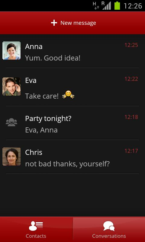 joyn by Vodafone (beta) - screenshot