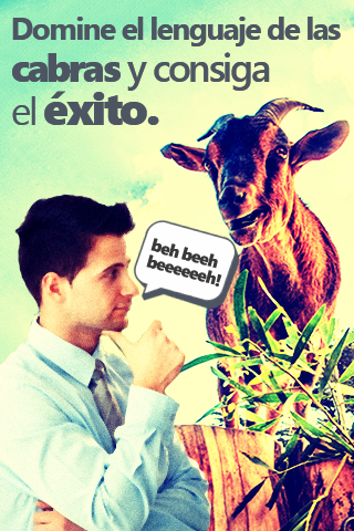 Cabrapp: traductor de cabras
