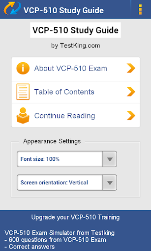 VMware VCP-510 Study Guide