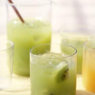 Fresh Kiwi-Grape Juice