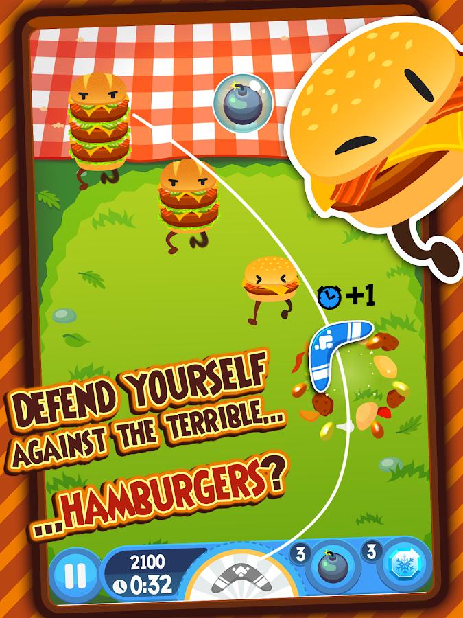 Burgerang - Kill the Meatballs - screenshot