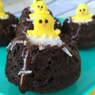 Milky Way Simply Caramel Chocolate Mini Bundt Cakes #EatMoreBites #shop