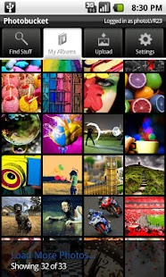 Photobucket Mobile - screenshot thumbnail