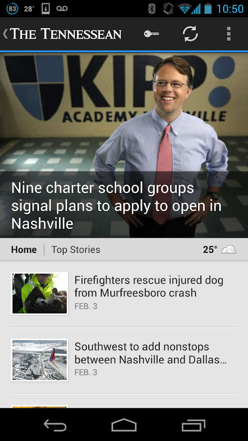 Tennessean - screenshot