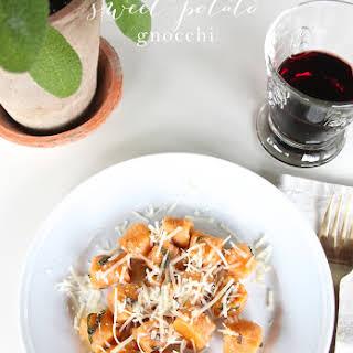 Homemade Sweet Potato Gnocchi.