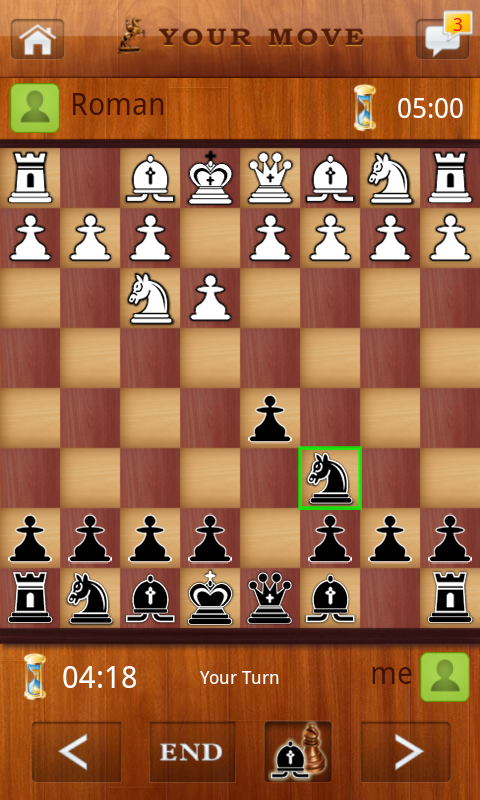 Screenshots of Chess Live for iPhone