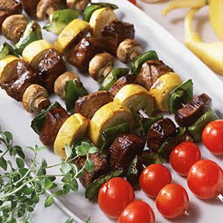 Beef Kebabs.