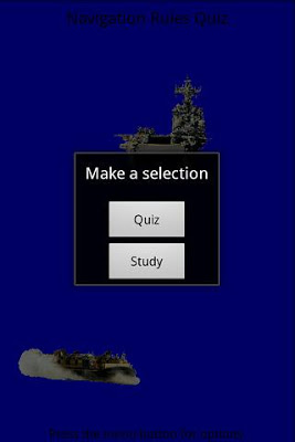 Navigation Rules Quiz - screenshot