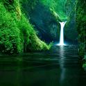 Amazing Waterfall LWP Free icon