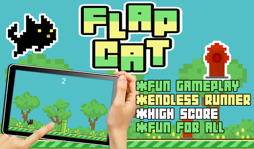 FREE Flappy Cat Endless Runner