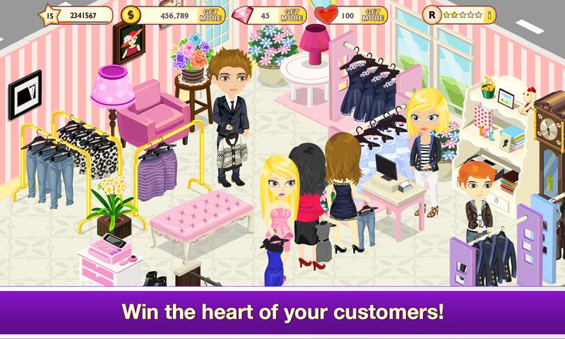 #1. Tap Boutique - Girl Fashion (Android)