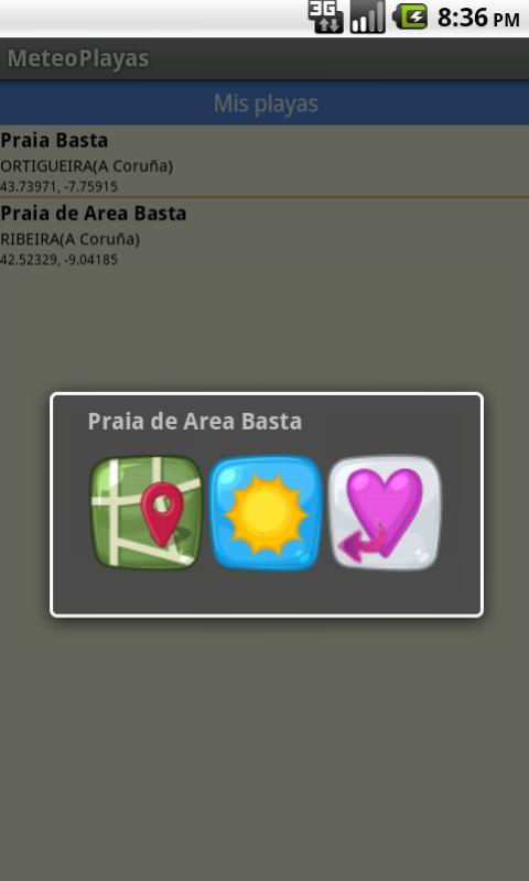 MeteoPlayas_Galicia - screenshot