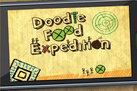 Doodle Food Expedition - screenshot