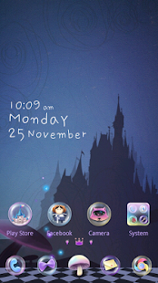 (FREE)Alice GO Launcher Theme - screenshot thumbnail