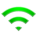 Auto open Wi-Fi donate logo