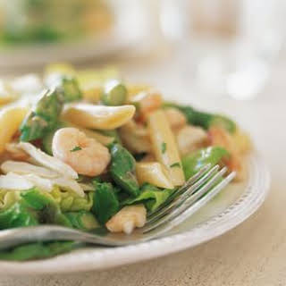 Seafood Pasta Salad With Shrimp And Crab Recipes.