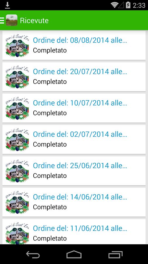iSapori - screenshot