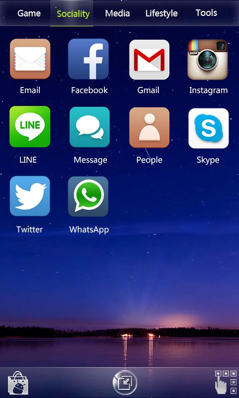 RUI Launcher-Smart launcher - screenshot