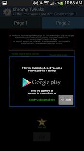 App Chrome Tweaks APK for Windows Phone