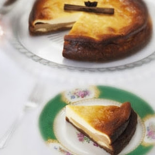 Spiced Pear And Ginger Cheesecake