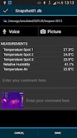 Screenshot of FLIR Tools Mobile