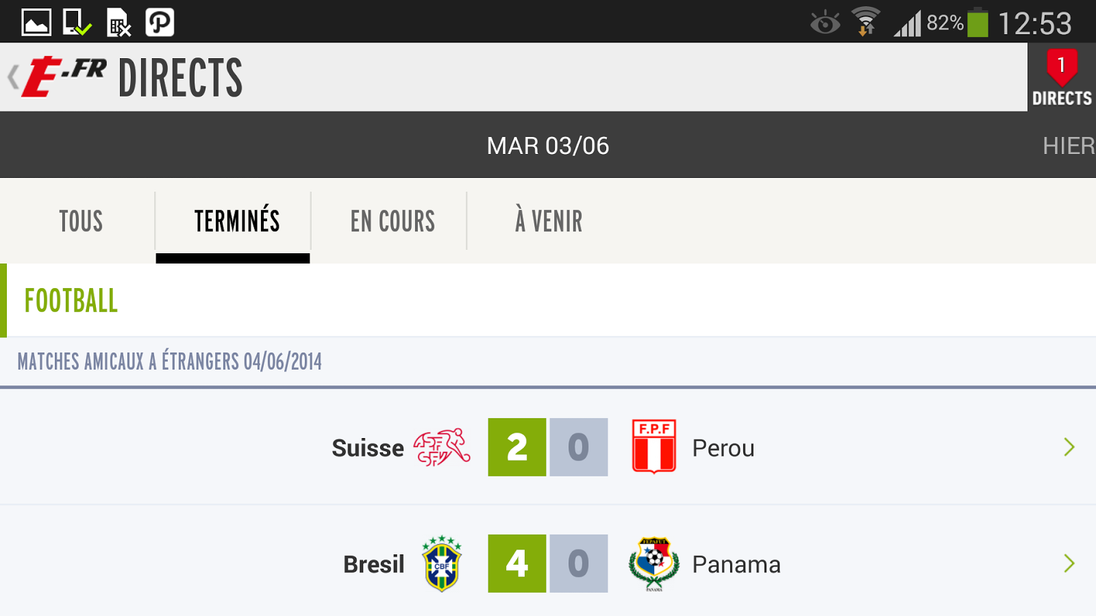 L'Equipe.fr : foot, rugby- screenshot