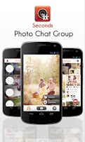 Screenshot of Seconds Fast Photo Group Chat