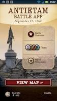 Screenshot of Antietam Battle App