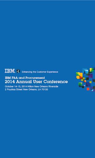 IBM F A SCM User Conference