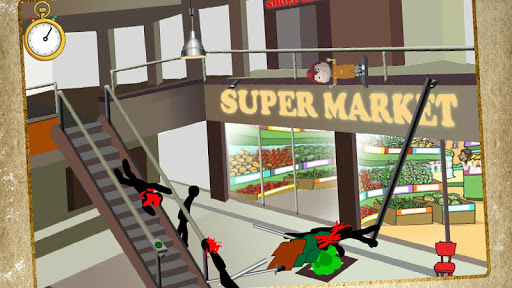 Stickman Death Shopping Mall