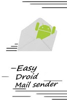 Screenshot of Droid easy email sender