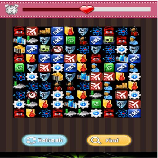 Link Same Icons Game