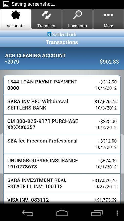 Sb Mobile Banking- screenshot