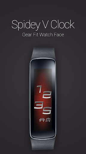Spidey V Clock for Gear Fit