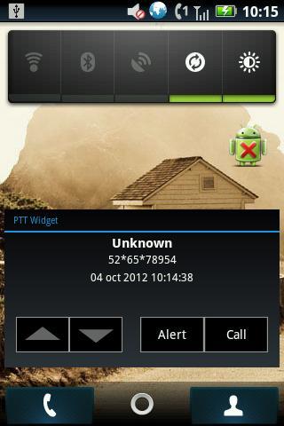 PTT Widget - screenshot
