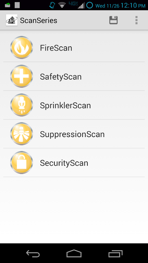 ScanSeries- screenshot