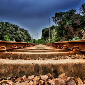 by Andre Oelofse - Transportation Railway Tracks (  )