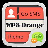 GO SMS PRO WP8Orange THEMEEX