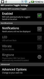 WiFi Location Toggle Screenshot 3