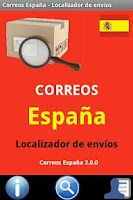 Screenshot of Correos España - Paqueteria