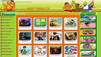 Screenshot of CizgiFilm oyunları