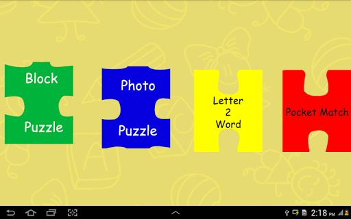 Kinder Garten-Kids Puzzle